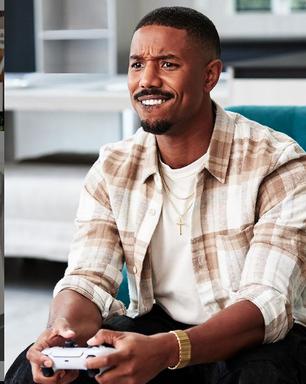 Michael B. Jordan: o sorriso do homem mais bonito do mundo