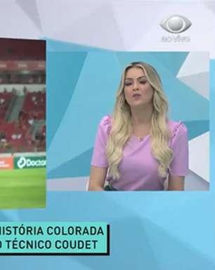 Renata Fan chora ao falar de saída de D'Alessandro do Inter
