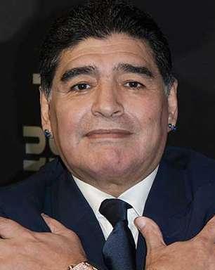 Cinco momentos em que o craque Maradona fez a gente sorrir