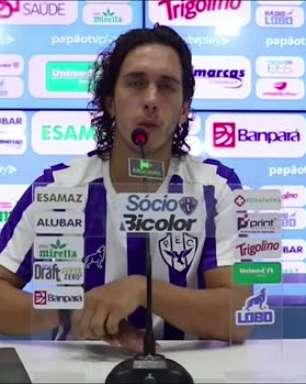 """PAYSANDU: Nicolas fala em semana diferente e disputa acirrada para o RE-PA: """"será decisivo, forte e intenso"""""""