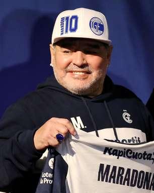 Estreia da Argentina terá homenagem a Maradona