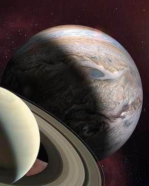 Saturno e Júpiter em movimento com Aquário; saiba o que muda