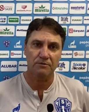 """PAYSANDU: Brigatti dispara críticas contra o árbitro: """"Ele controlou o jogo, marcando pequenas faltas e parando a partida"""""""