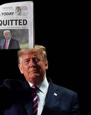 'Ridículo', diz Trump sobre pedido de impeachment