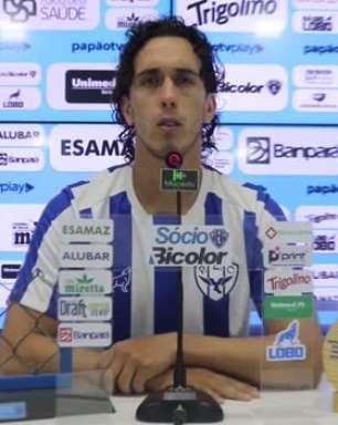 """PAYSANDU: Nicolas reitera desejo de garantir o acesso para a Série B: """"Um sonho meu desde o ano passado"""""""