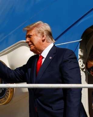 """Trump promete """"voltar de alguma forma"""" em discurso"""