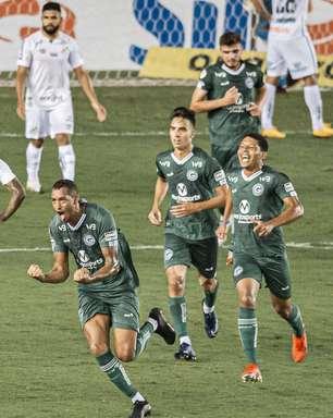 Santos abre 2 a 0, mas sofre virada e perde para o Goiás