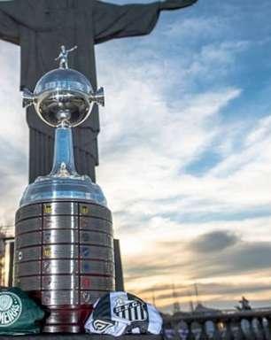 Palmeiras e Santos decidem a Libertadores no Maracanã