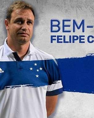 Cruzeiro anuncia a contratação do técnico Felipe Conceição, ex-Guarani