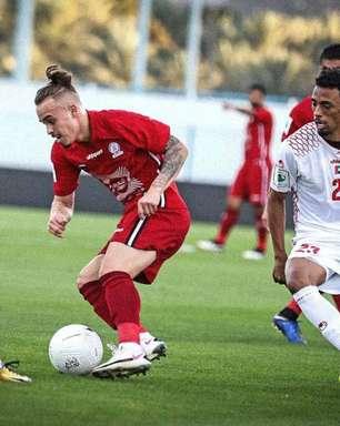 Ex-Vila Nova, atacante Erick Daniel celebra boa fase e mira título nos Emirados Árabes