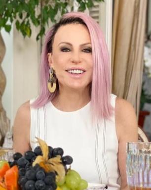 'Mais Você': Ana Maria Braga troca cabelo rosa por lavanda