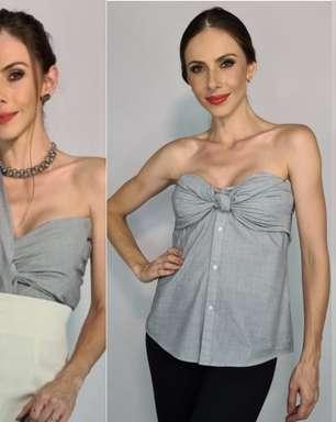 Veja como criar diversos looks versáteis com uma única camisa