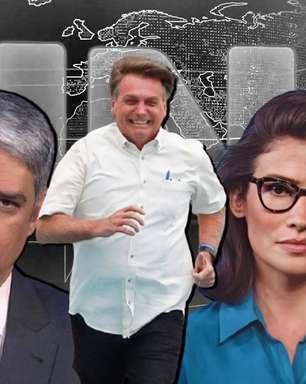 Estratégia de Bolsonaro deixa Bonner e Renata sem respostas