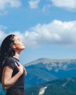 Uma técnica simples de respiração para aliviar a ansiedade