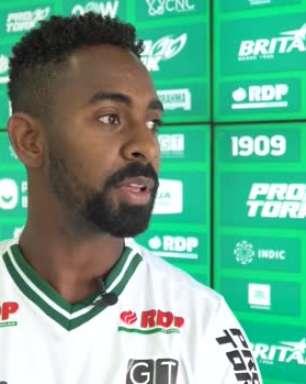 """CORITIBA: Wellington Carvalho projeta volta à Série A: """"Temos sempre que vislumbrar coisas maiores"""""""
