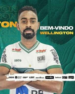 Coritiba contrata o zagueiro Wellington Carvalho