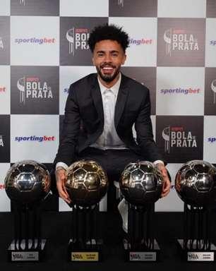 Claudinho, do RB Bragantino, é o grande premiado do 'Bola de Prata' da ESPN; confira a seleção