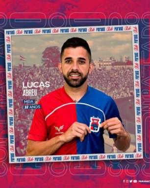 Lucas Abreu assina com o Paraná e espera grande ano no tricolor
