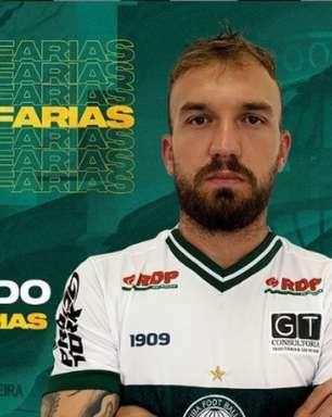 Volante Willian Farias está de volta ao Coritiba