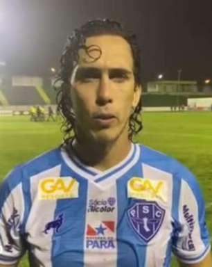 """PAYSANDU: Nicolas celebra vitória e gol pelo segundo jogo consecutivo: """"sempre gratificante ajudar"""""""