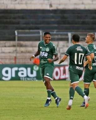 Rodrigo Andrade comemora gol e vitória do Guarani