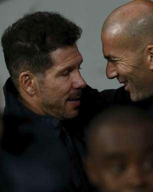 Zidane x Simeone: quem tem mais vitórias no Real Madrid x Atlético?