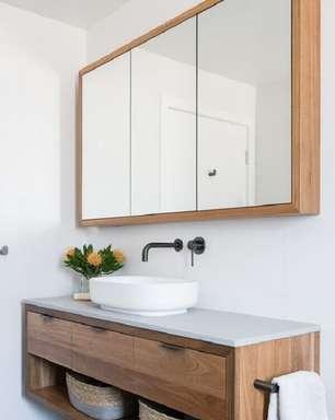 Espelheira para Banheiro: Saiba O Que É +60 Modelos Lindos para sua Decoração