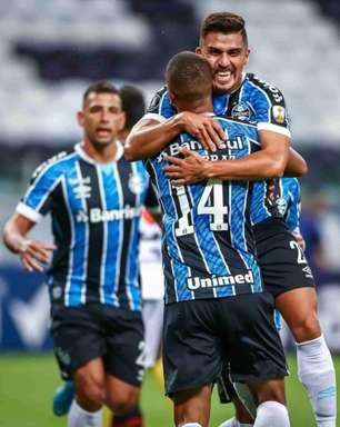 Grêmio atropela e encaminha classificação na Libertadores