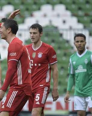 Bayern vence o Werder Bremen e segue líder do Alemão