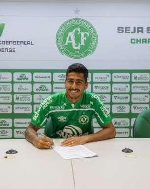 Kaio Nunes é anunciado pela Chapecoense