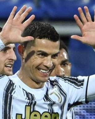 Com três de CR7, Juventus vence o Cagliari pelo Italiano