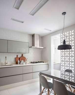 Cerâmica para Cozinha: Qual Escolher +80 Ideias de Revestimentos