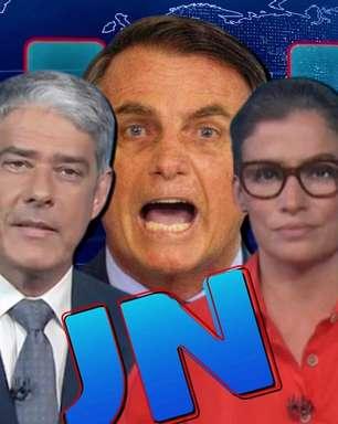 Ontem foi um péssimo dia para Bolsonaro assistir ao 'JN'