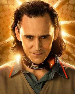 Loki aparece como prisioneiro no 1º pôster de sua série
