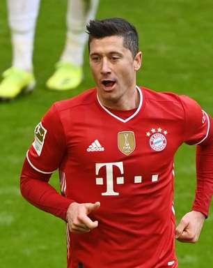Com três de Lewandowski, Bayern goleia o Stuttgart