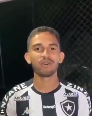 Marco Antônio publica vídeo com a camisa do Botafogo