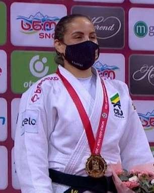 Judoca Maria Portela conquista medalha de ouro no Grand Slam de Tbilisi