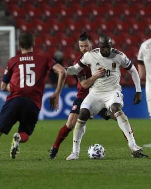 República Checa e Bélgica empatam por 1 a 1