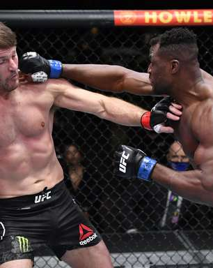 Ngannou nocauteia Miocic e 'rouba' título dos pesados do UFC