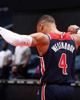 Westbrook torna-se recordista de triplos-duplos no Wizards
