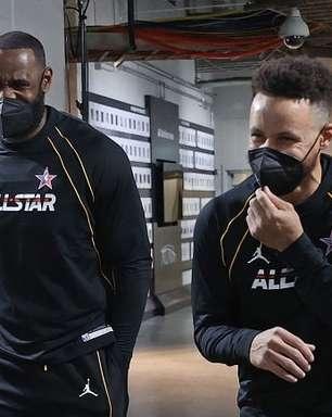LeBron estaria recrutando Stephen Curry para o Lakers