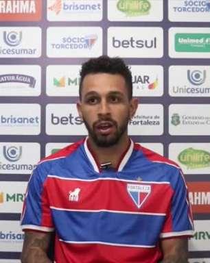 FORTALEZA: Wellington Nem prefere não estipular data para uma possível estreia e reitera sobre treinamentos antes de chegar ao clube