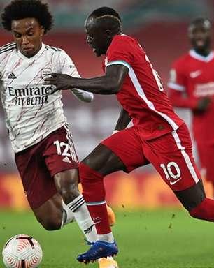 Arsenal x Liverpool: saiba onde assistir e prováveis escalações