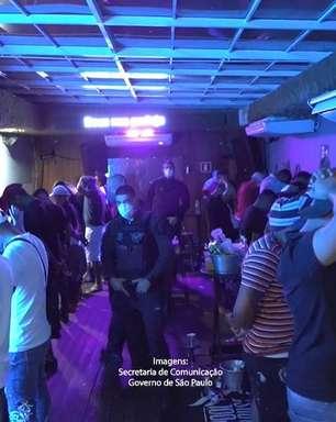 Festa clandestina com mais de 100 pessoas é autuada em SP