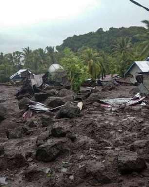 Inundações deixam mais de 40 mortos na Indonésia
