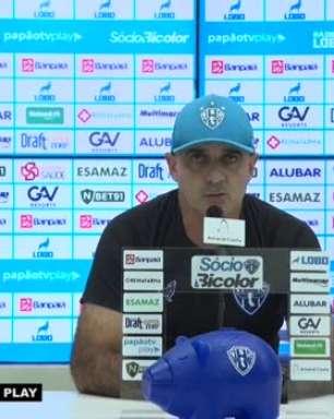 """PAYSANDU: Itamar Schulle defende Marlon por pênalti perdido e justifica porque Nicolas não cobrou a penalidade: """"Ele nunca foi um cobrador em jogo"""""""