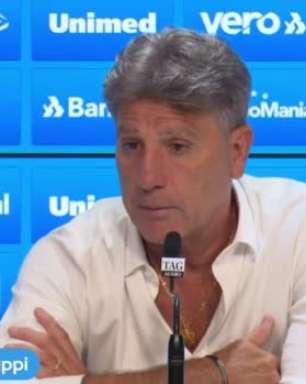 """GRÊMIO: Renato Gaúcho desconversa sobre situações de Pepe e Jean Pyerre, mas garante: """"Ainda são jogadores do Grêmio"""""""