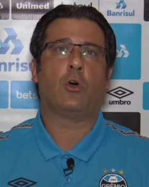"""GRÊMIO: Médico do clube atualiza estado de saúde de Renato Gaúcho: """"já está bem melhor do sintomas"""""""