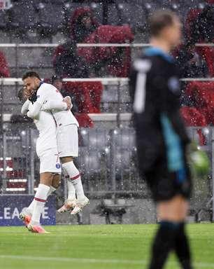 Neymar e Mbappé decidem, PSG bate Bayern e põe 'pé' na semi