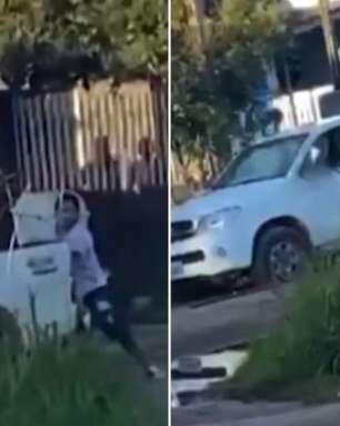 Marido detona caminhonete que achava ser de amante da mulher